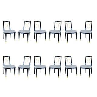 Robert & Mito Block Set Of 12 Dining Chairs