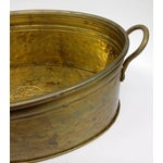Image of Solid Brass Nijhof Planter Made in Holland