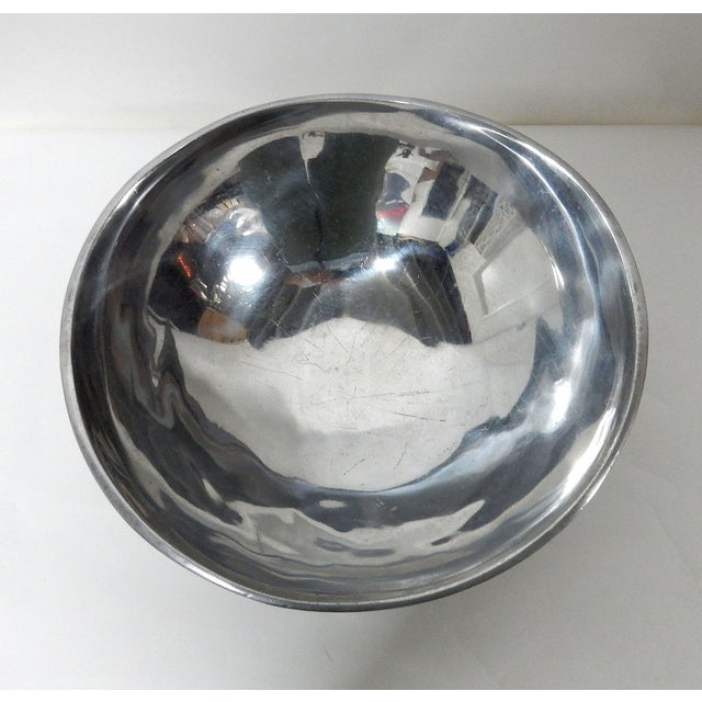 Bruce Fox Design Aluminum Bowl - Image 7 of 7