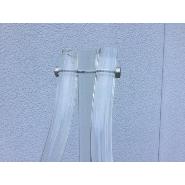 1970's Modern Lucite Easel - Image 6 of 10