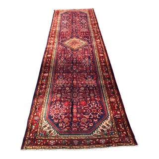 "Vintage Persian Malayer Runner- 3'3""x11'11"""