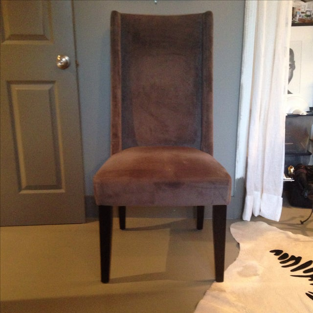 West Elm Willoughby Brown Desk Chair Chairish