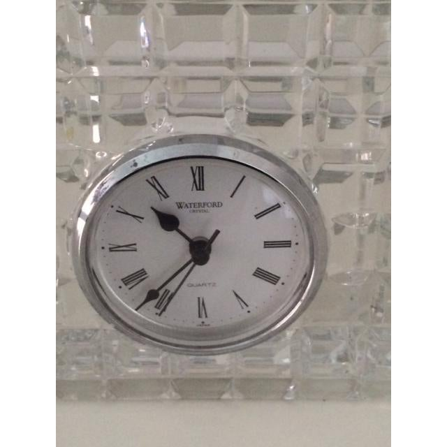 Image of Square Waterford Crystal Clock