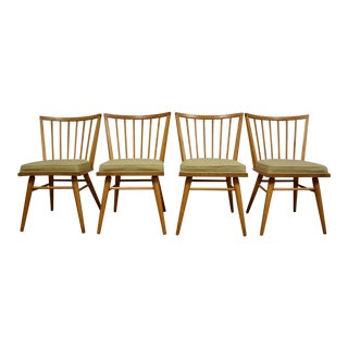 Russell Wright Conant Ball Dining Chairs - Set of 4