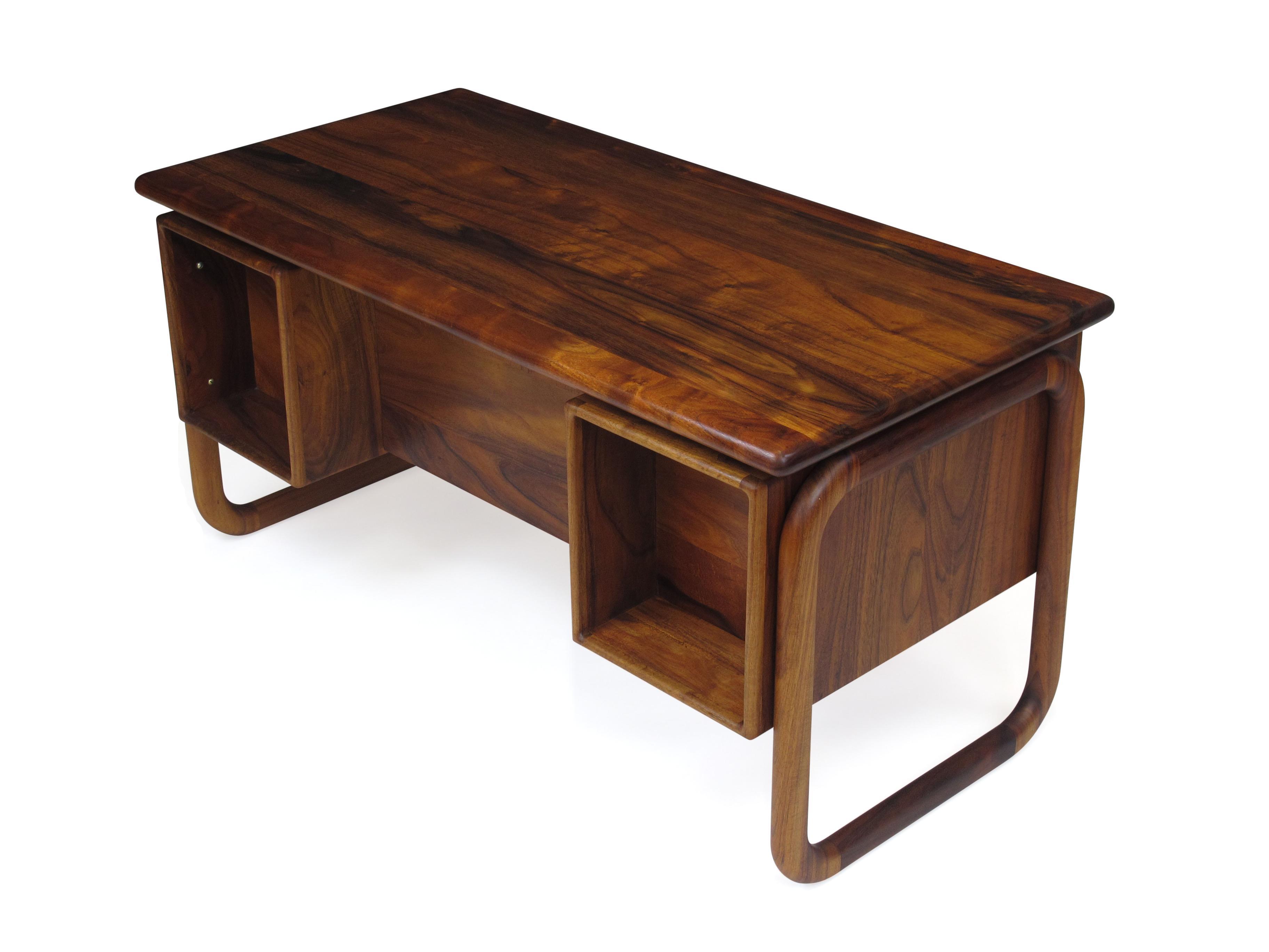 California Studio Handcrafted Koa Desk   Image 7 Of 10