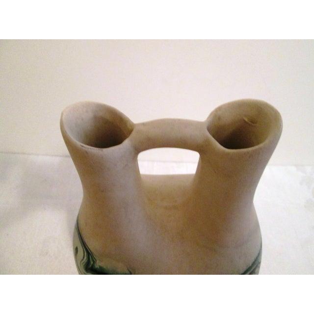 Image of Nemadji Jade-Green Swirl Wedding Vase