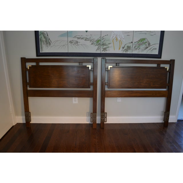 Dixie Campaign Twin Headboards - Set of 2 - Image 3 of 11