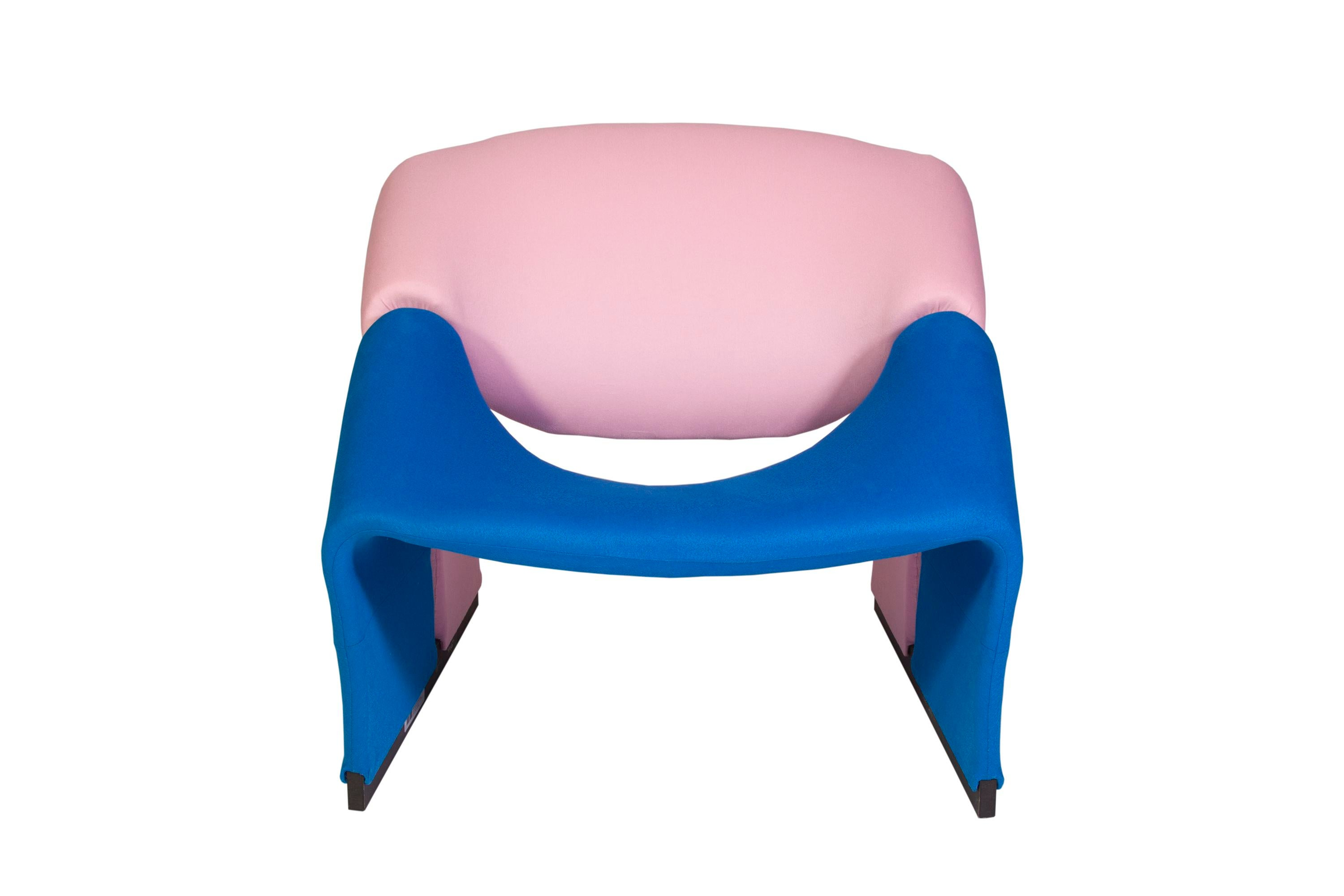 Upholstered Chair And Ottoman pierre paulin oscar de la renta cashmere upholstered chairs