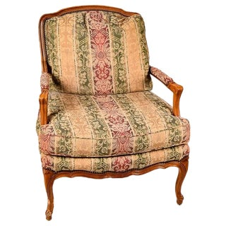 Baker French Provincial Lounge Chair