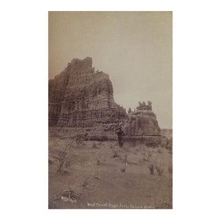 Antique 'Desert Wind Carved Rocks' Photo