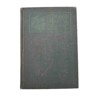 Vintage Biology Laboratory Manual