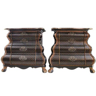 William Switzer Commodes-Pair
