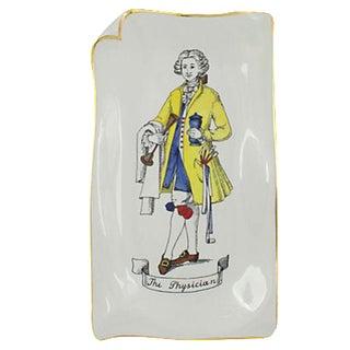 Fornasetti Porcelain Envelope Tray