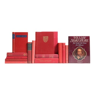England in Red: Her History & Heritage Book Collection - Set of 15