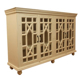 French Country White Sideboard