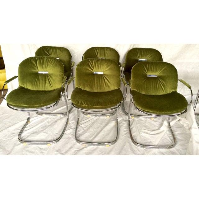 Sabrina Chairs by Gastone Rinaldi - S/6 - Image 5 of 9