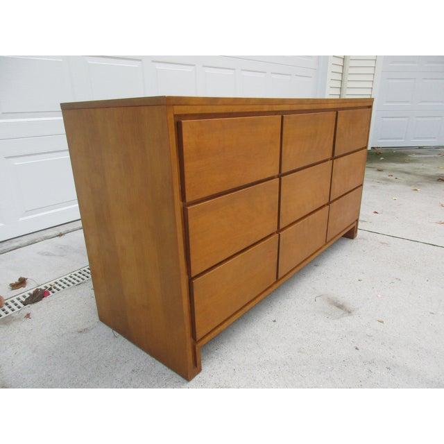 Leslie Diamond For Conant Ball Nine Drawer Dresser - Image 3 of 10