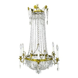 Regency Tent and Bag Chandelier