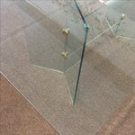 Image of Pierre Cardin Be Beveled Glass Dining Table