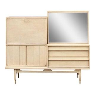 American of Martinsville Mid-Century Modular Cabinet / Bar
