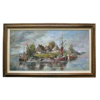 Original Oil Painting by Helmut Kahle