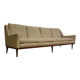 Milo Baughman Beige Sofa