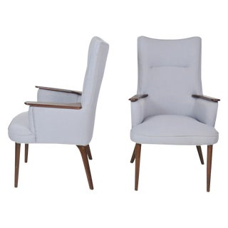 Modern Design Lounge Chairs - A Pair