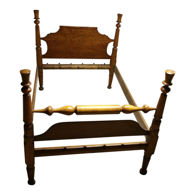 Antebellum Tennessee Cherry Rope Bed Frame Chairish