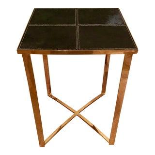Cyan Modern Reality Side Table
