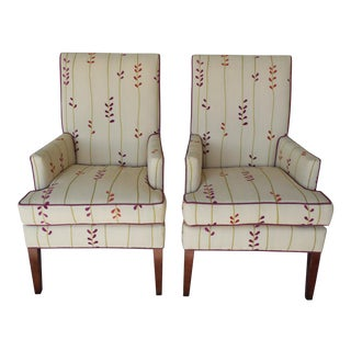 Design Master Accent Fireside Chairs - Pair
