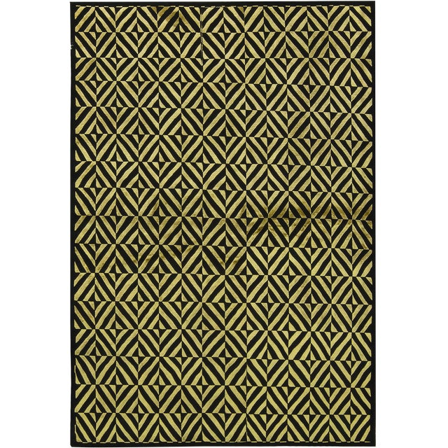 Contemporary Hand Woven Rug - 6' x 8'10 - Image 1 of 3