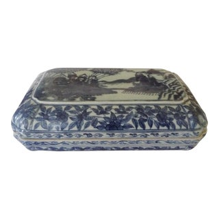 Japanese Large Porcelain Box