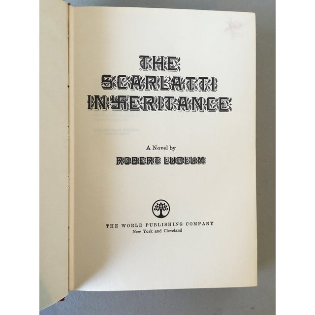 The Scarlatti Inheritance, Robert Ludlum 1st Print - Image 4 of 4