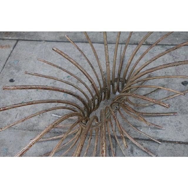 "Vintage Metal ""Tree"" Roots Coffee Table - Image 8 of 11"