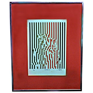"""Protection Ii"" Serigraph by Linda Stein"