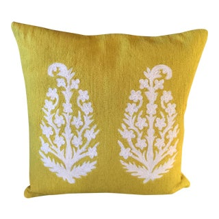 Lindell & Co Mustard Pillow