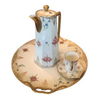 Vintage Limoges Coffee Set - Set of 6