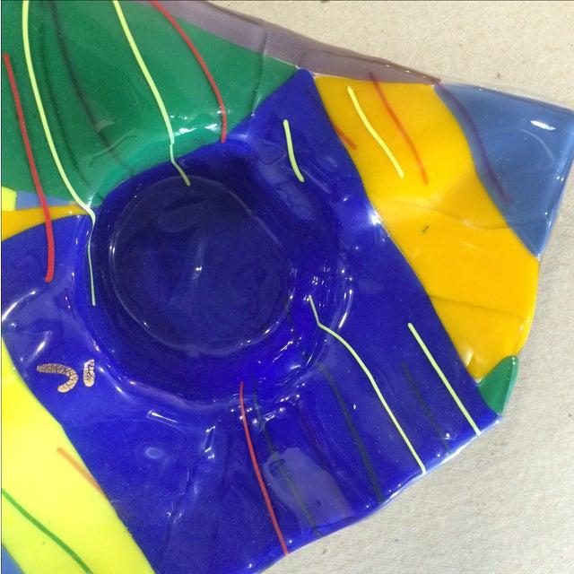 Memphis Studio Art Glass Bowl - Image 5 of 6