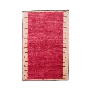 Hand Woven Cochineel Dyed Carpet - 8' x 10'