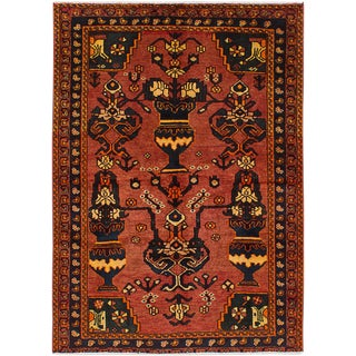 "4'5"" x 6'2"" Bakhtiar Vintage Persian Rug"