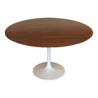 Saarinen Tulip Walnut Table