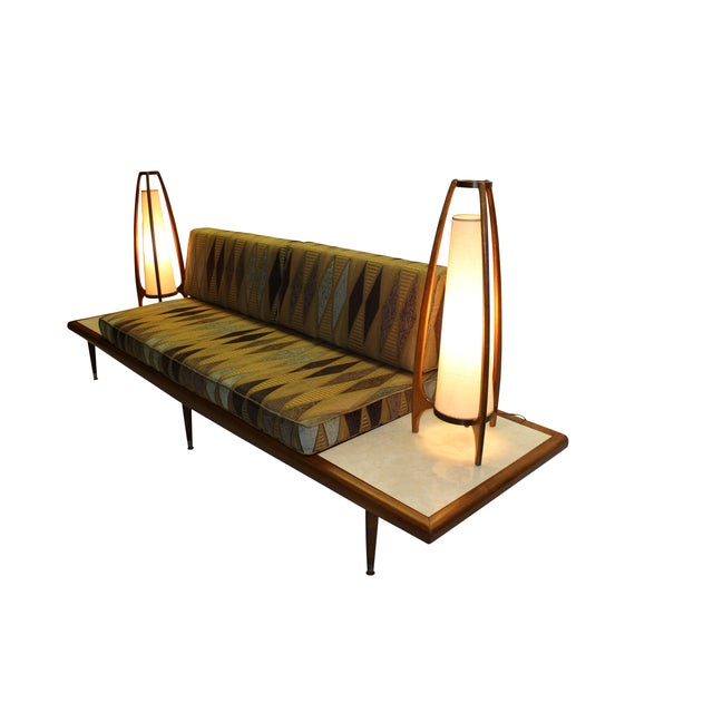 Mid Century Modern Adrian Pearsall Floating Sofa - Image 5 of 9