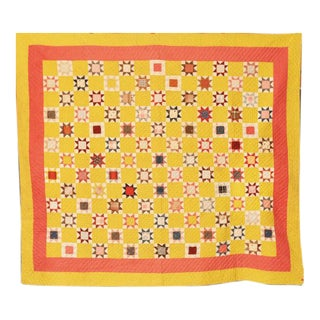 American Pieced Star Quilt