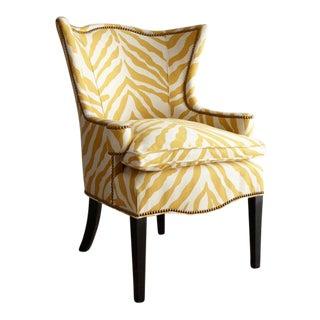 Jonathan Adler Zebra Print Chair