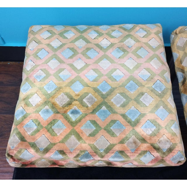Milo Baughman Mid Century Smoke Glass Chrome Sofa Table