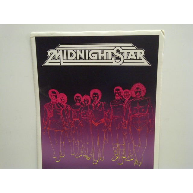 1981 Midnight Star Concert Poster - Image 3 of 4