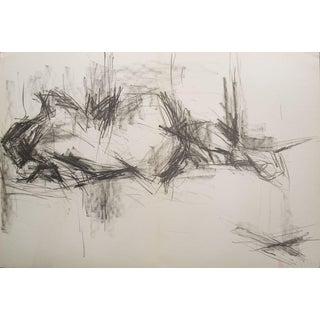 Gerard Fromanger, Paloma Allongee, 1965 Lithograph