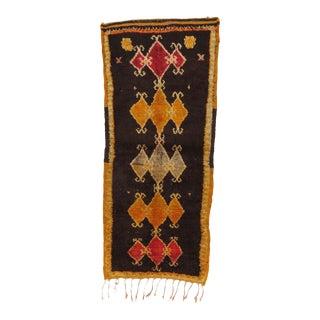 Vintage Moroccan Boujad Rug - 2′2″ × 5′9″