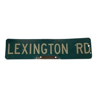 Industrial Lexington Rd. Sign