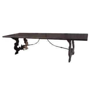Spanish-Style Trestle Table